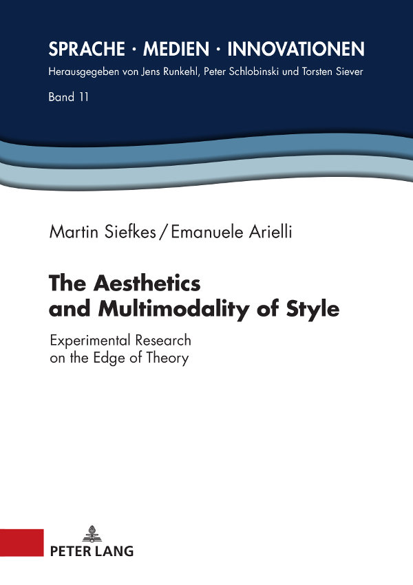Aesthetics and Multimodality of Style (Cover)