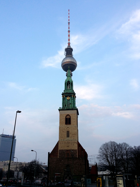 A strange tower?