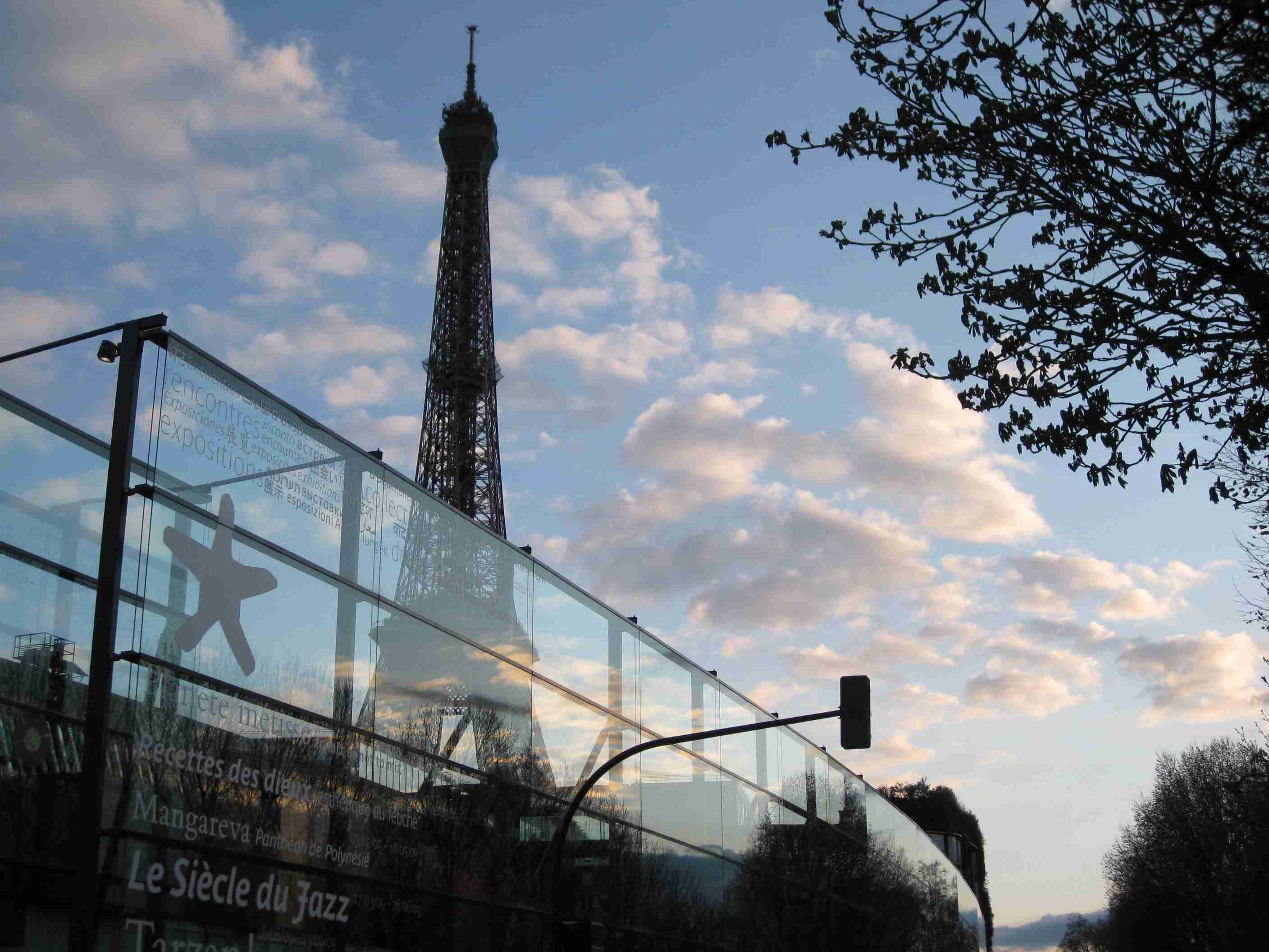 Quai Branly & Eiffel Tower, Paris